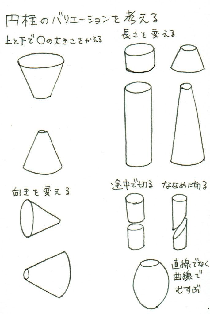 円柱のバリエーションを考える