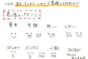 【第5回】簡単に描ける表情のバリエーションを考えよう