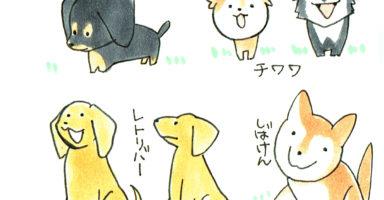 犬を描こう